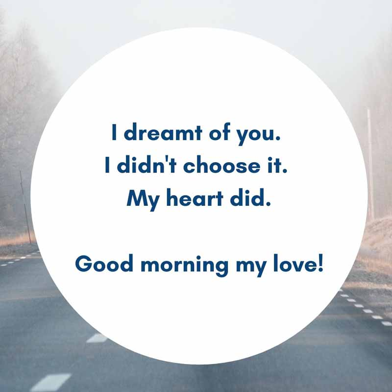 Good Morning Messages for Her – Long Distance Relationship