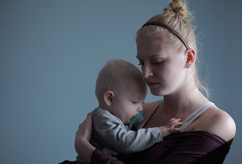 Can my ex leave my child with his girlfriend