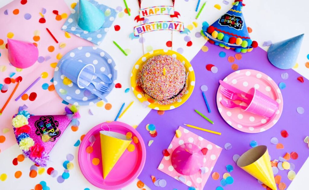 Birthday cookies and stuff - birthday paragraph for her